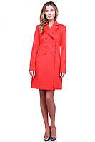 Женское пальто на 6 пуговиц