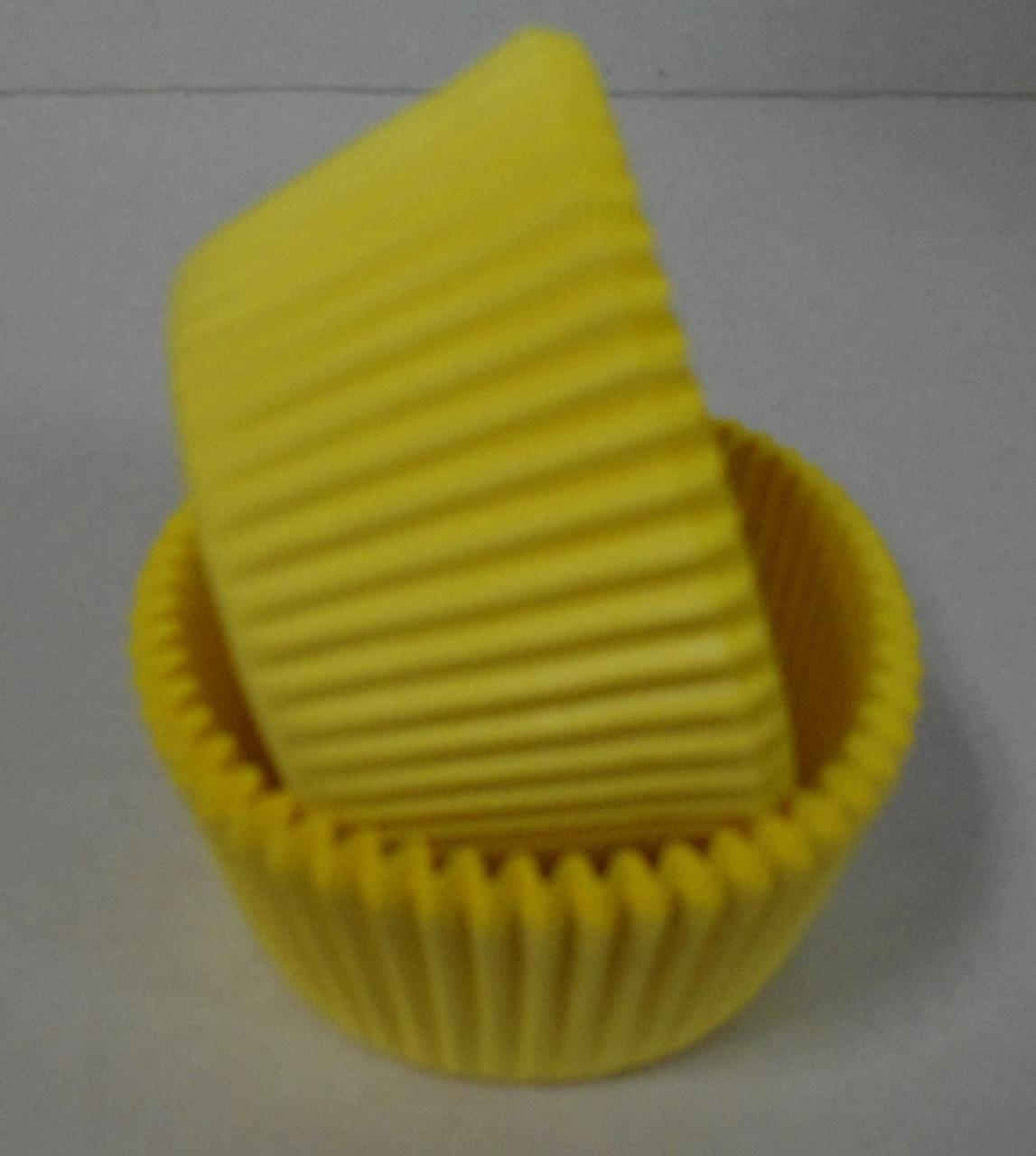 Форма для маффинов желтые 50/30 мм Украина - 04681