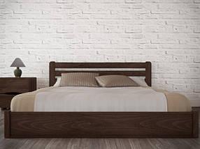 Двоспальне ліжко з натурального дерева АУРЕЛЬ Софія з підйомним механізмом ШхГ - 200х190 см, фото 3