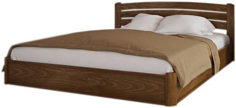 Кровать двухспальная из натурального дерева АУРЕЛЬ София Люкс с подъёмным механизмом ШхГ - 180х190 см, фото 2