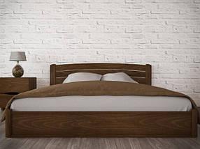 Двоспальне ліжко з натурального дерева АУРЕЛЬ Софія Люкс з підйомним механізмом ШхГ - 200х190 см, фото 2