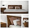 Ліжко півтораспальне з натурального дерева АУРЕЛЬ Маріта Люкс ШхГ - 140х200 см, фото 4