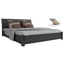 Кровать двухспальная из натурального дерева АУРЕЛЬ Марита Люкс с подъёмным механизмом ШхГ - 160х200 см, фото 2