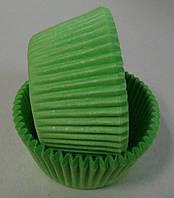 Форма для маффинов зеленая 50/30мм Украина - 04683