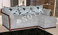 Угловой диван Сидней с оттоманкой (шагающий механизм)