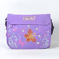 Детская сумка через плечо KBC сиреневая для девочки
