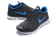 Кроссовки мужские Nike Free 3.0 V2 Black черные18, фото 1
