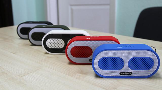Bluetooth колонка купить, портативная Bluetooth колонка купить, беспроводная колонка купить, колонка NK-BT83 купить, динамик купить, беспроводной динамик купить