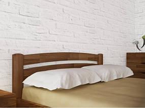 Кровать полуторная из натурального дерева АУРЕЛЬ Милана Люкс ШхГ - 120х190 см, фото 3
