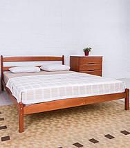 Кровать полуторная из натурального дерева АУРЕЛЬ Ликерия ШхГ - 120х200 см, фото 2
