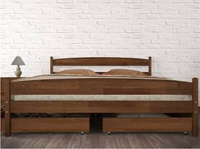 Кровать двухспальная из натурального дерева АУРЕЛЬ Ликерия Люкс ШхГ - 200х190 см, фото 2