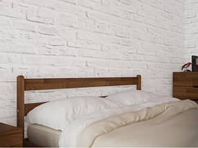 Двоспальне ліжко з натурального дерева АУРЕЛЬ Джулія ШхГ - 160х190 см, фото 3