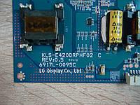 """Инвертор для LG 42"""" 6917L-0095C KLS-E420DRPHF02 C REV 0.5 , фото 1"""