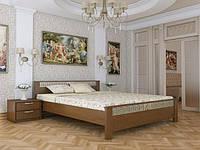 Кровать двухспальная из натурального дерева Эстелла АФІНА (спальное место ШхГ - 1800х2000)