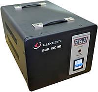 Стабилизатор напряжения Luxeon SDR-15000 черный, фото 1