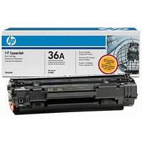 Заправка принтера  HP LJ P1505, HP LJ M1120/1522, заправка картриджа HP CB436A (№36А)