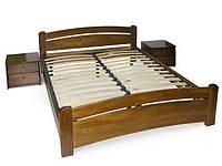 Кровать полуторная из натурального дерева Эстелла ВЕНЕЦІЯ (спальное место ШхГ - 1200х1900)