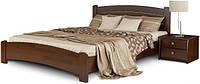 Кровать полуторная из натурального дерева Эстелла ВЕНЕЦІЯ-Люкс (спальное место ШхГ - 1400х1900)