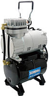 Миникомпрессор низкого давления SUMAKE MC-1100THRGM с ресивером, регулятором и шлангом 1/8HP