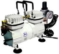 Миникомпрессор низкого давления SUMAKE MC-1103HFRGM с регулятором,фильтром и шлангом 1/6HP