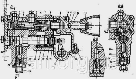 Ходовая часть тракторов МТЗ и ЮМЗ устройство