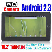 """Super Pad  FlyTouch3 10.2""""  WIFI, GPS, Android 2.3, 8 Гб"""