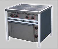 Плита электрическая 4-х конфорочная с духовкой ПЕ-4 Ш