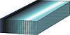 Гладкий оцинкованный лист 0,55х1000мм
