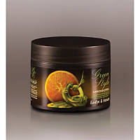 Натуральная маска стимулирующая Бамбук и Апельсин для придания объема и блеска волосам