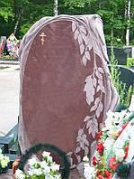 Памятник из красного гранита № 92
