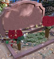 Памятник из красного гранита № 97