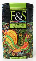 Чай F&S The magic pheasant (Волшебный Фазан) цейлонский зелёный листовой чай, 100г
