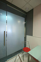 Офисные перегородки с применением стекла