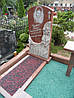 Памятник из красного гранита № 910