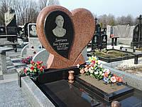 Памятник из красного гранита № 914