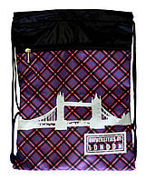 "Сумка для сменки с карманом Vombato ""Лондон""   , фото 1"
