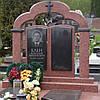 Памятник из красного гранита № 925
