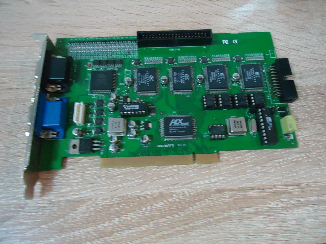 Видеорегистратор GeoVision GV-650-800(S) V3.31 (PLX PCI6140)
