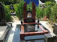 Памятник из красного гранита № 931, фото 1