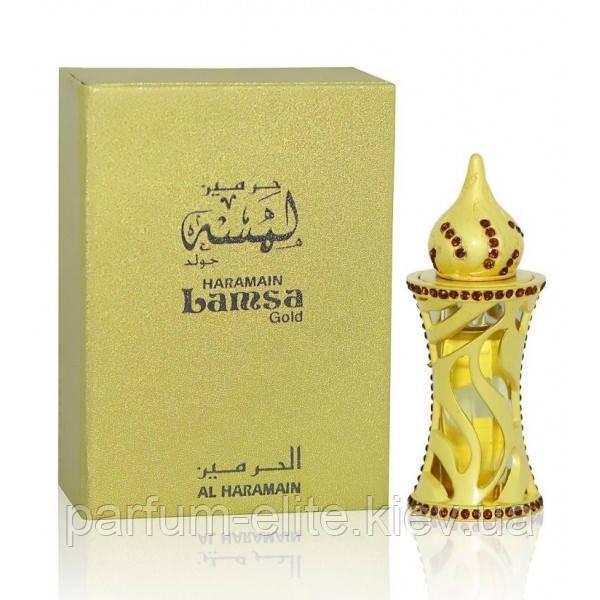 Парфюмерное масло унисекс Al Haramain Lamsa Gold 12ml