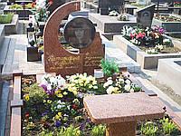 Памятник из красного гранита № 939