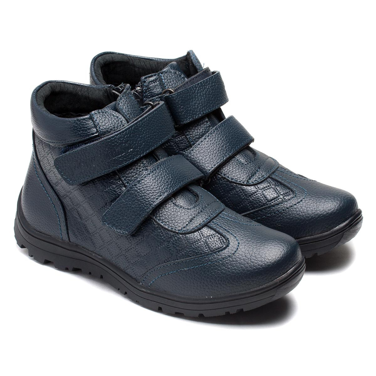 Ботинки Шалунишка - Ортопед  для мальчика, на липучках и молнии, размер 32-37