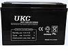 Гелевая аккумуляторная батарея UKC 12V 100A, аккумуляторУКС 12В 100А