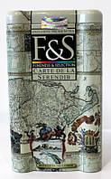 Чай F&S CARTE DE LA SEERENDIB (Карта острова Серендиб) - чёрный крупнолистовой чай, 150 г