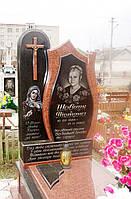 Памятник из красного гранита № 959