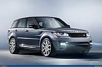 Брызговики оригинальные Range Rover Sport 2013- (AVTM) комплект 4-шт.