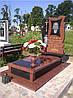 Памятник из красного гранита № 964