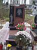 Памятник из красного гранита № 967