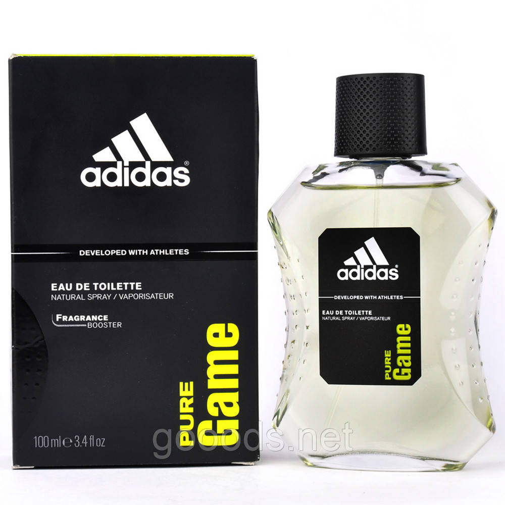 Мужская, туалетная, вода, Adidas, Pure, Game