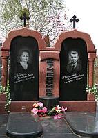 Памятник из красного гранита № 970